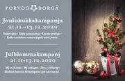 Christmas flowers to  elder people in Porvoo, from 5€