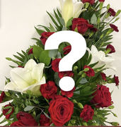 Florist`s choice Funeral bouquet 59,90€-99,90€